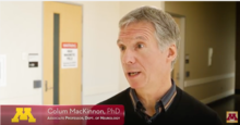 Colum MacKinnon is studying a possible link between sleep disorders and Parkinson's